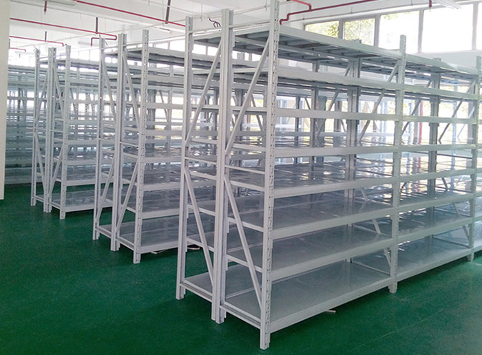 Medium Duty Storage Rack Longspan Shelving for Garages