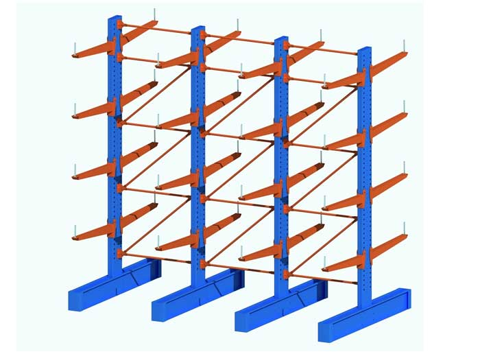 double side cantilever racking