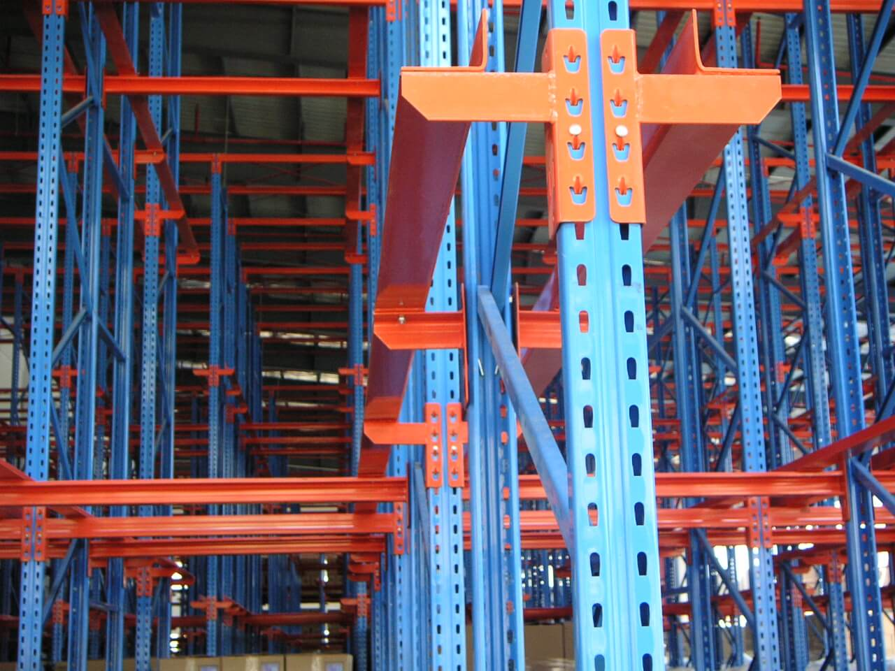 The Selection of Warehouse Drive Through Pallet Racking Systems