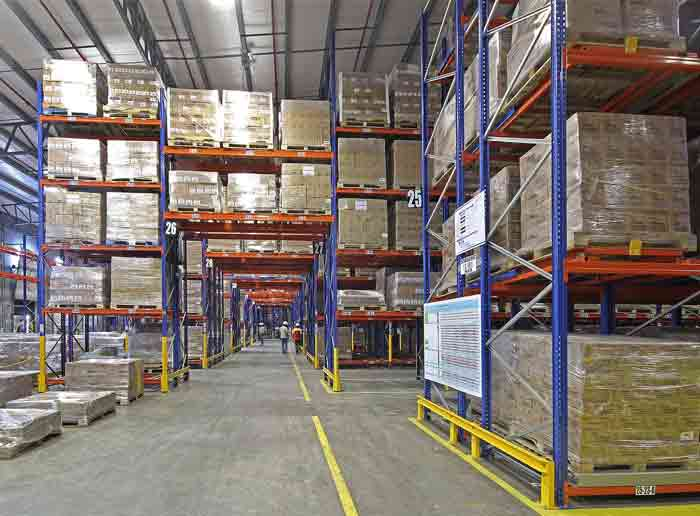 The Different Combinations of Warehouse Rack