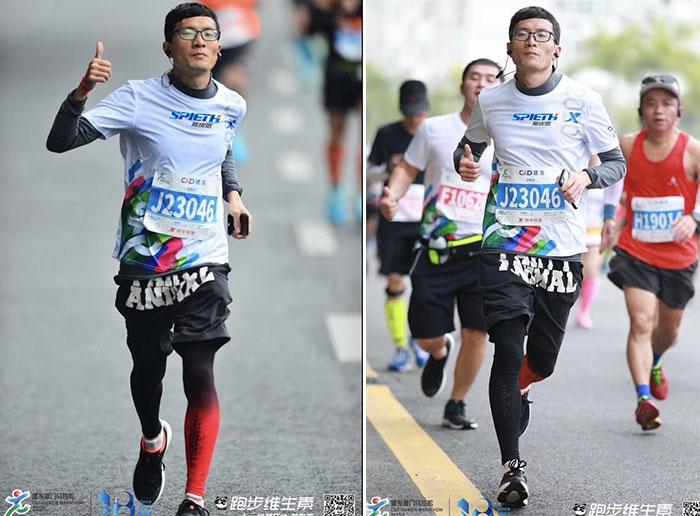 Spieth At 2020 C&D Xiamen Marathon