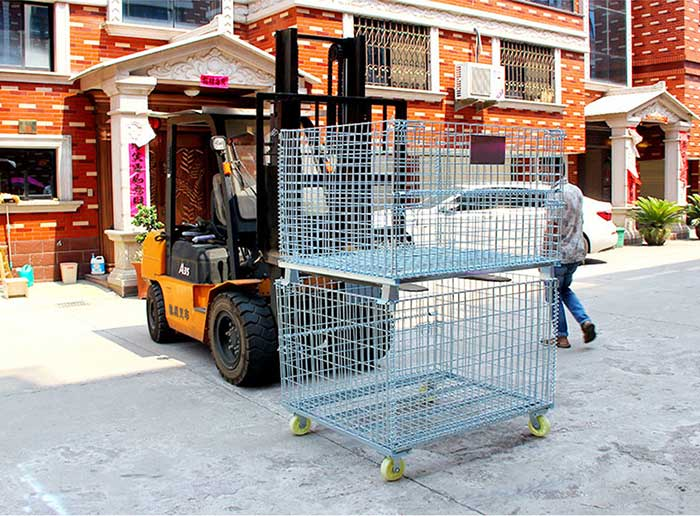 Why Choose Wire Container for Your Warehouse?