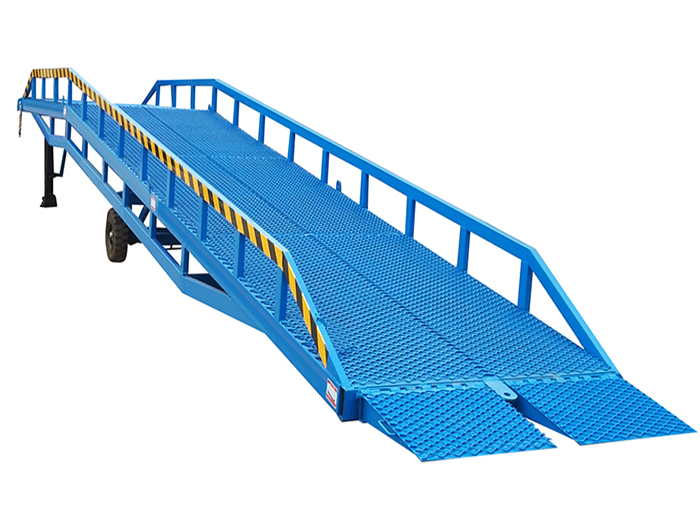 Problems needing attention in daily maintenance of yard ramp
