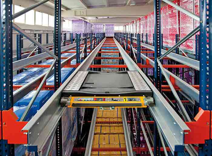 How Does The Radio Shuttle Racking System Work?