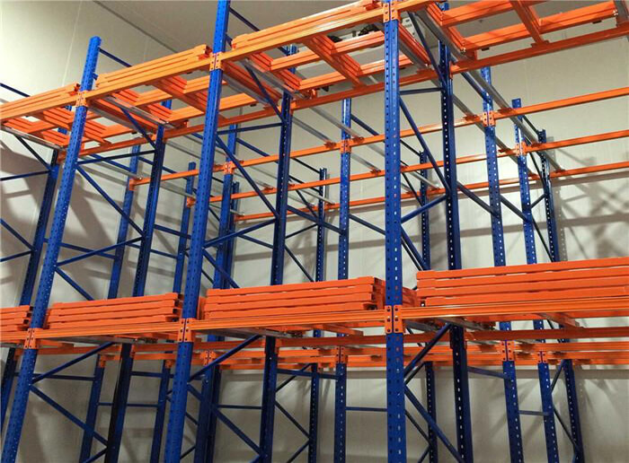 Hot Sale Push Back Rack System For Warehouse Storage Rack