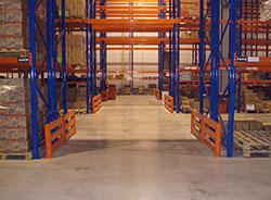 Hot Sale Push Back Rack System For Warehouse Storage Rack