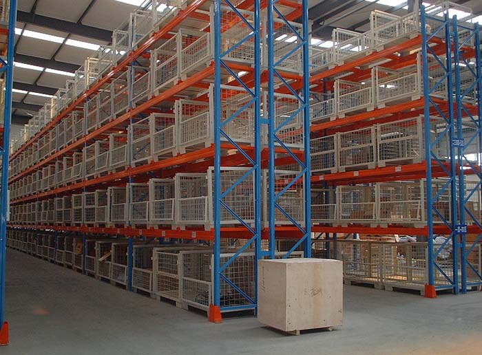 Heavy Duty Adjustable Steel Shelving Warehouse Selective Pallet Rack System