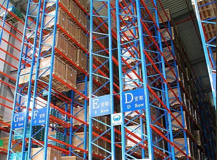 Warehouse storage Very Narrow Aisle Pallet Rack