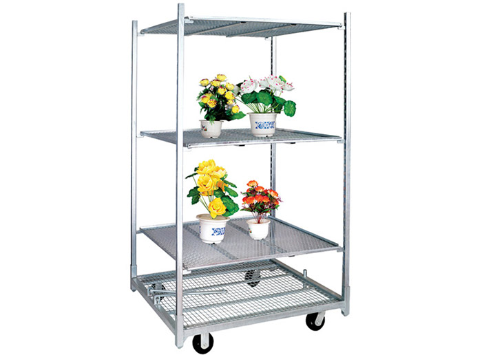 Greenhouse nursery plant transport danish trolley