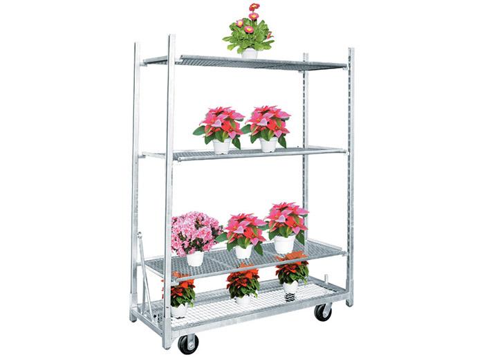 Greenhouse nursery plant transport danish trolley