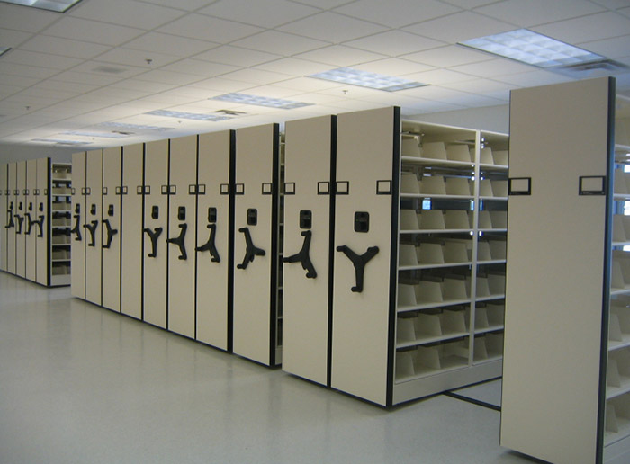 High Density Mechanical Intelligent Filing Mobile Shelving