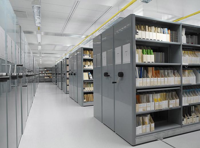 High Density Mechanical Intelligent Filing Mobile Shelving
