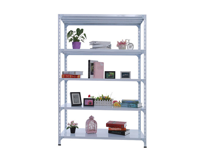 Light Duty Warehouse Storage Slotted Steel Angle Shelving