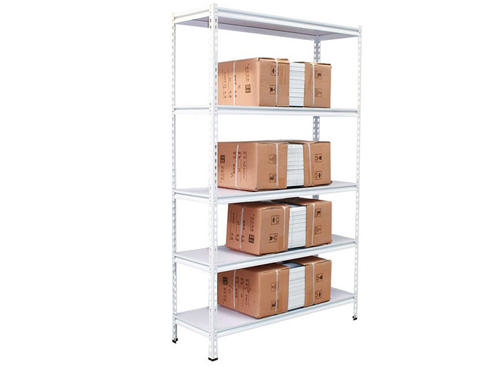 5 Tier Steel Metal Boltless Rivet Storage Shelving Racks
