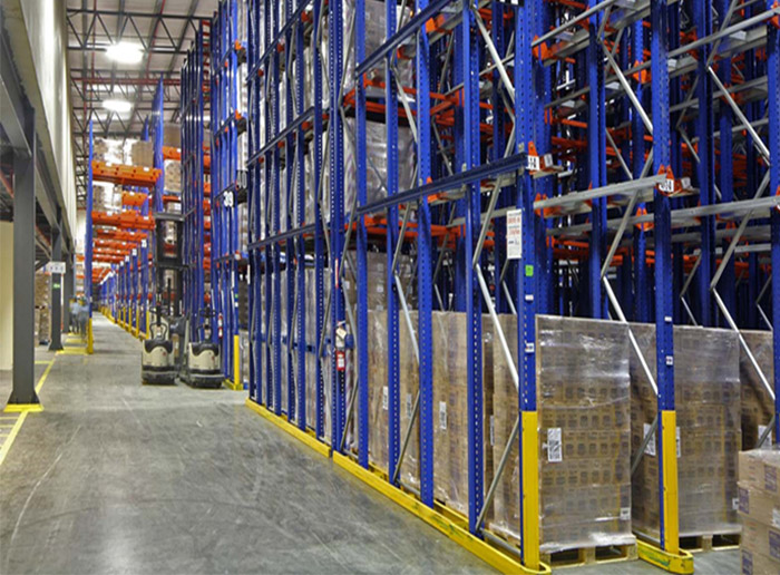 Heavy Duty Drive In Pallet Racking Systems for Warehouse Storage