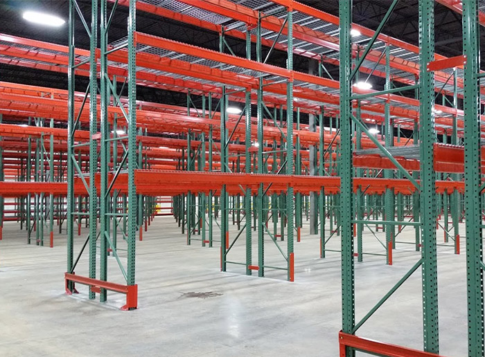 Teardrop Pallet Racking for Heavy Duty Warehouse Storage