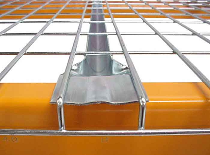 Heavy Duty Zinc Pallet Rack Wire Mesh Deck
