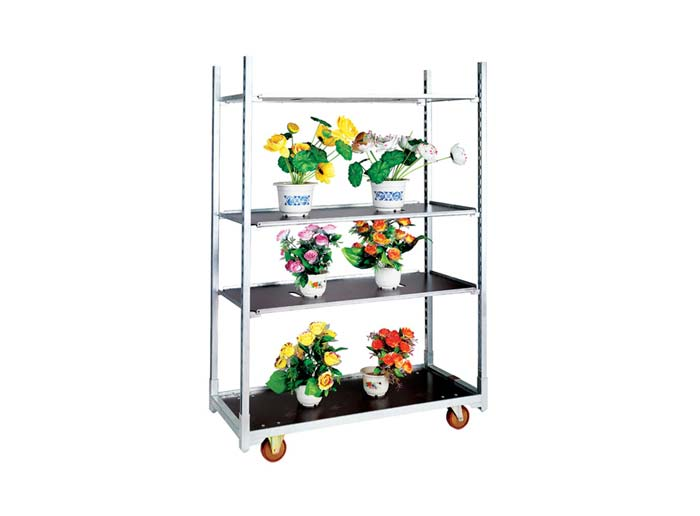 Waterproof Plywood Board Flower Trolley