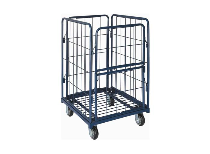 Warehouse Folding Roll Container