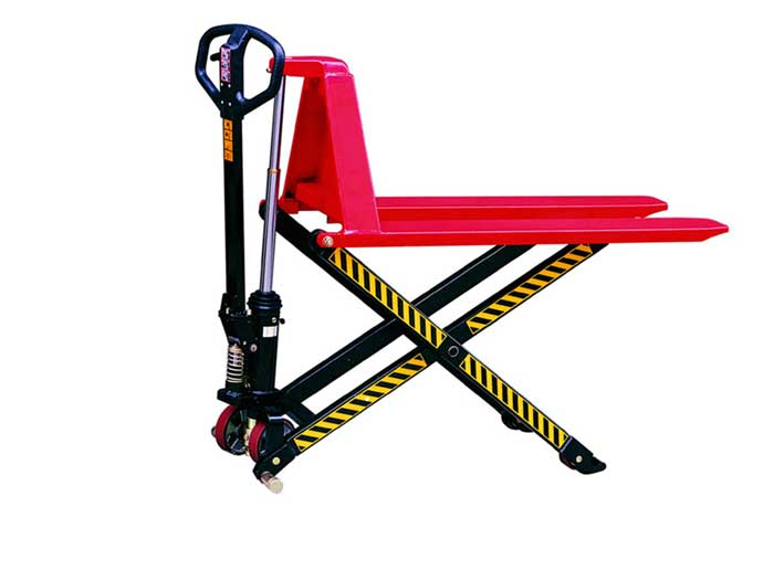 Scissor Lift 1500kg Pallet Truck for Warehouse