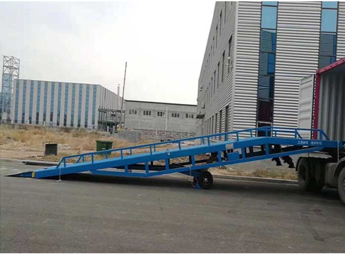 Mobile Yard Ramp | Portable Loading Dock