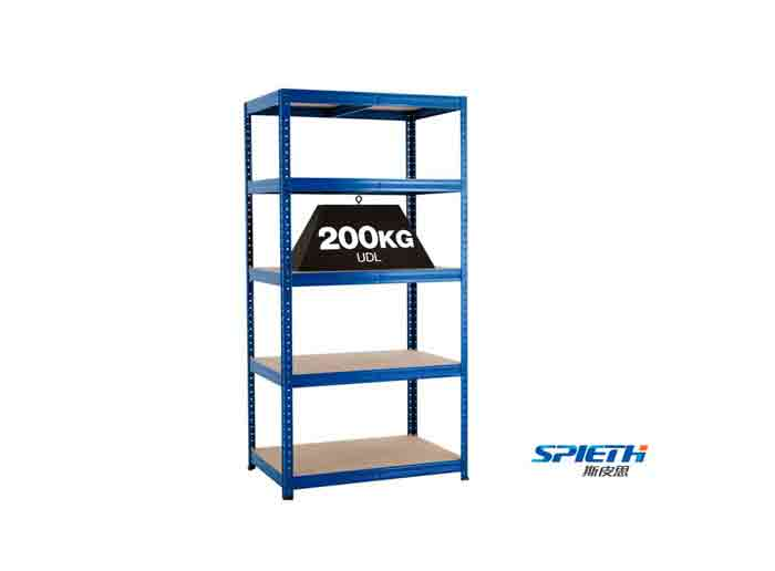 Warehouse Storage Light Duty Boltless Rivet Shelving