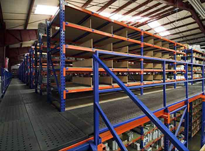 Rack Supported Mezzanine Floor Racking
