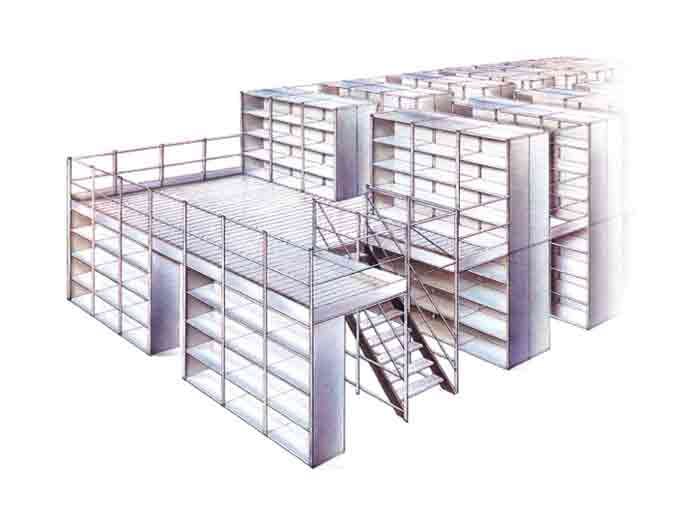 Mezzanine Floor Racking System Factory