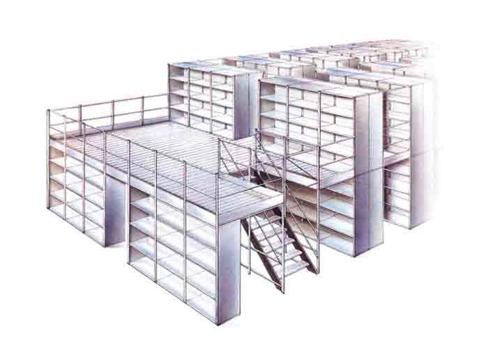 Mezzanine Floor Racking System Factory