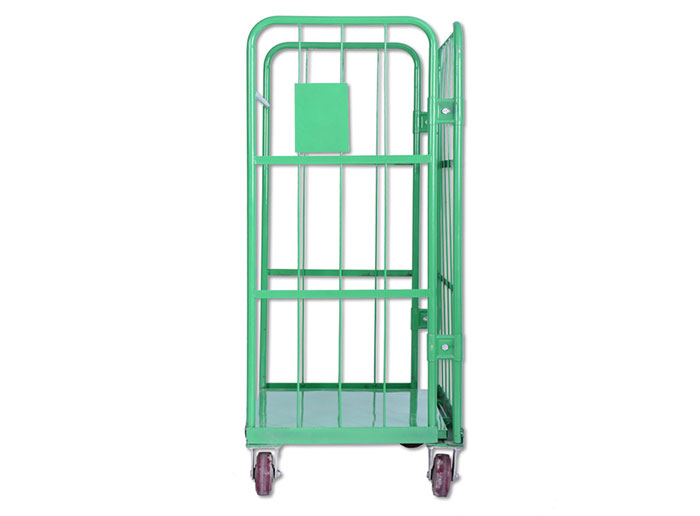 3-Sided Logistics Trolley Collapsible Roll Container