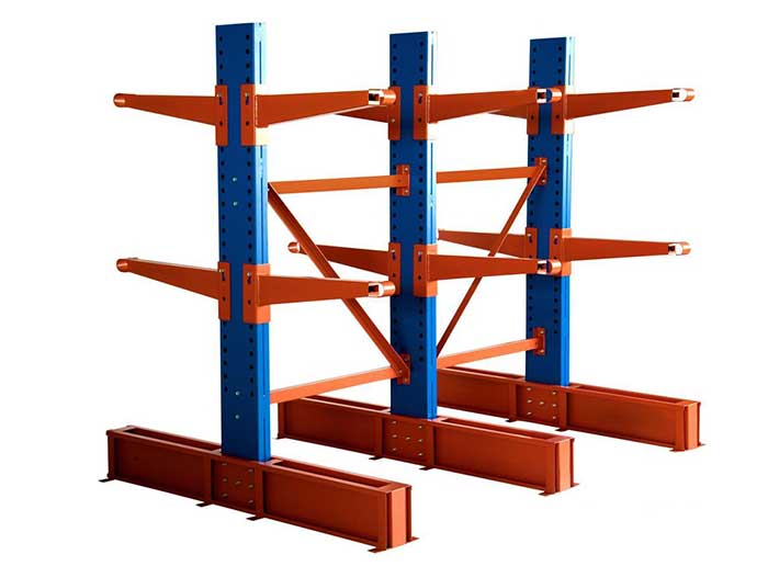 Heavy Duty Steel Cantilever Pallet Racking