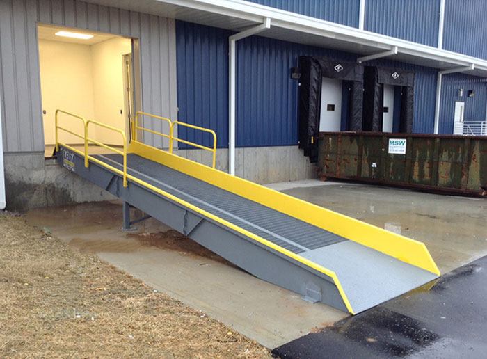Stationary Loading Dock Ramps