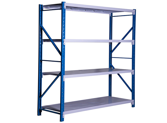 Stainless Steel Slotted Angle Shelving For Sale
