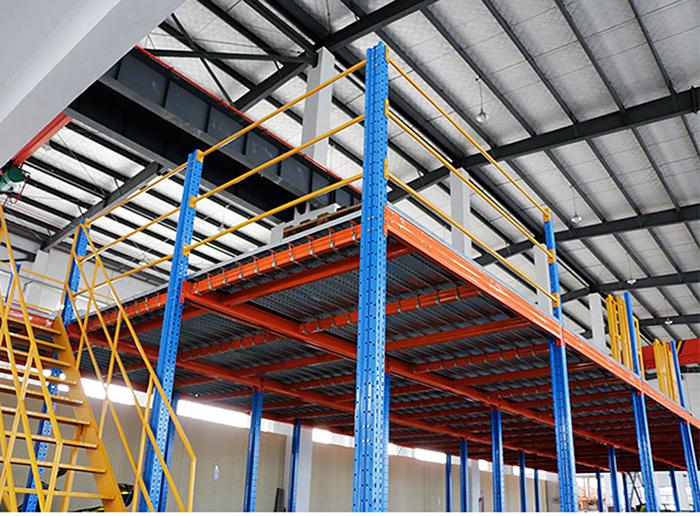 Warehouse Storage Mezzanine Rack Flooring Systems