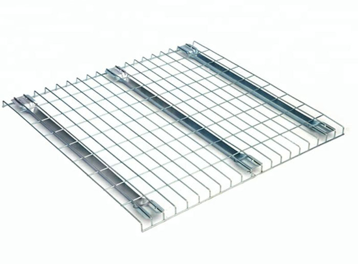 Wire Mesh Decking For Warehouse Storage Rack