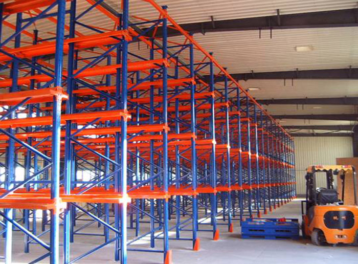 Warehouse Storage Shelves Drive In Pallet Racking