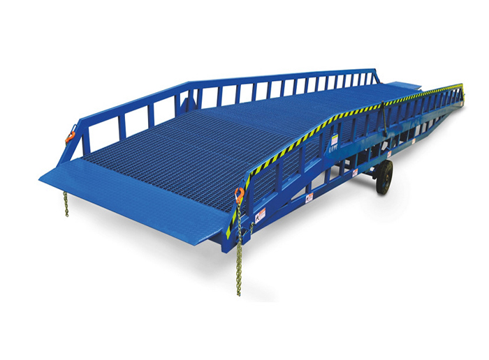 Hydraulic Warehouse Mobile Container Loading Ramp Yard  Dock Lever