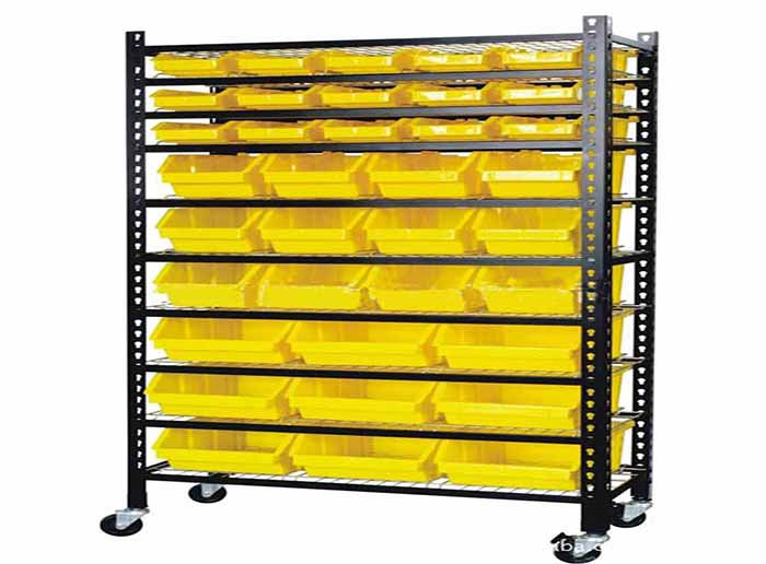 Durable Parts Box Rack of Various Sizes