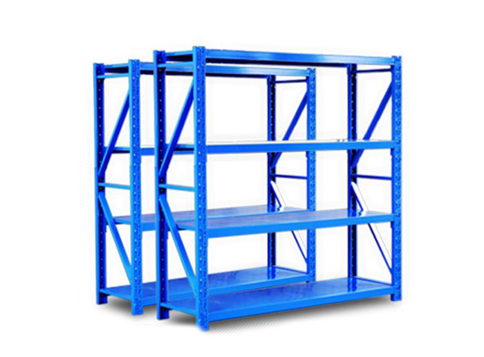 Longspan Metal Shelf Adjustable Warehouse Shelving For Storage