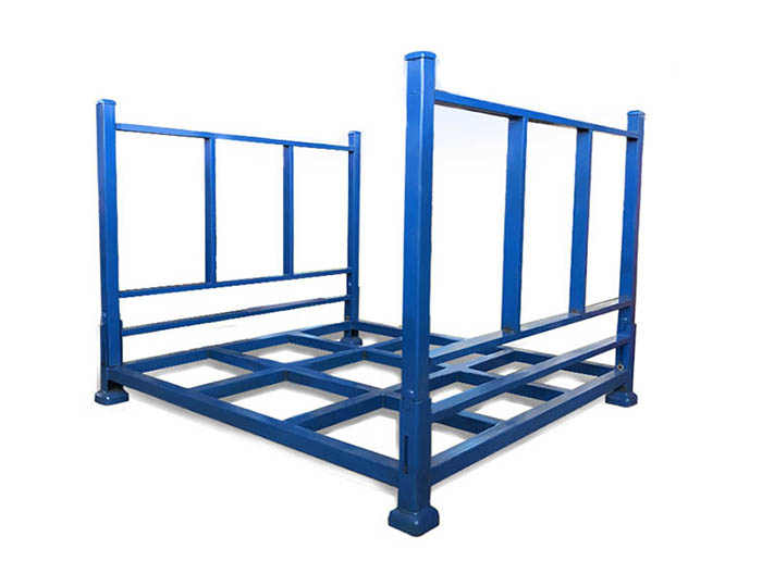 Powder Coating Stackable Steel Tire Storage Pallet Tyre Racking