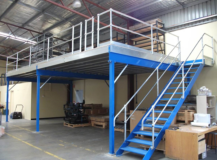 Steel Mezzanine Floor Warehouse Shelf Platform