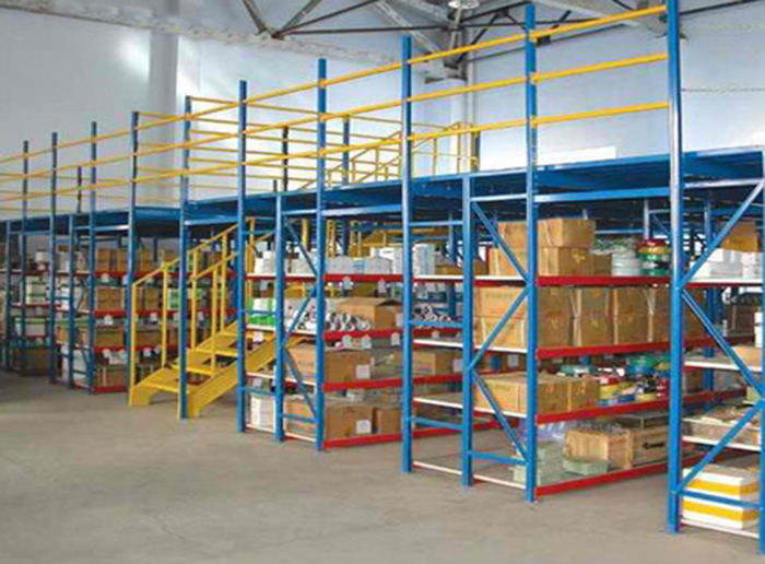 Steel Mezzanine Floor Warehouse Shelf Platform