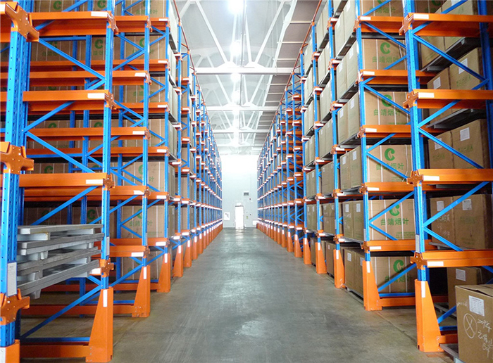 Industrial Warehouse Drive-in Pallet Storage Racking System