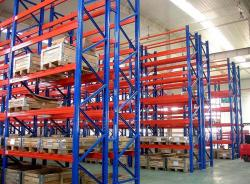 Heavy Duty Adjustable Steel Shelving 80*60 Frame Selective Pallet Rack System