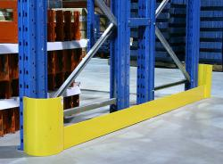 L Style Warehouse Racking Stainless Steel Corner Guard System Upright Protector