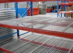 Durable Steel Galvanized Wire Mesh Decking for Pallet Rack