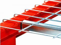 Heavy Duty Zinc Pallet Rack Wire Mesh Deck