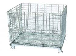 China Supplier Heavy Duty Wire Mesh Container Storage Cage