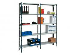 Light Duty Industrial Slotted Angle Shelving