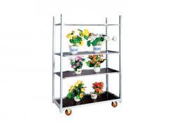 Waterproof Plywood Board Flower Trolley